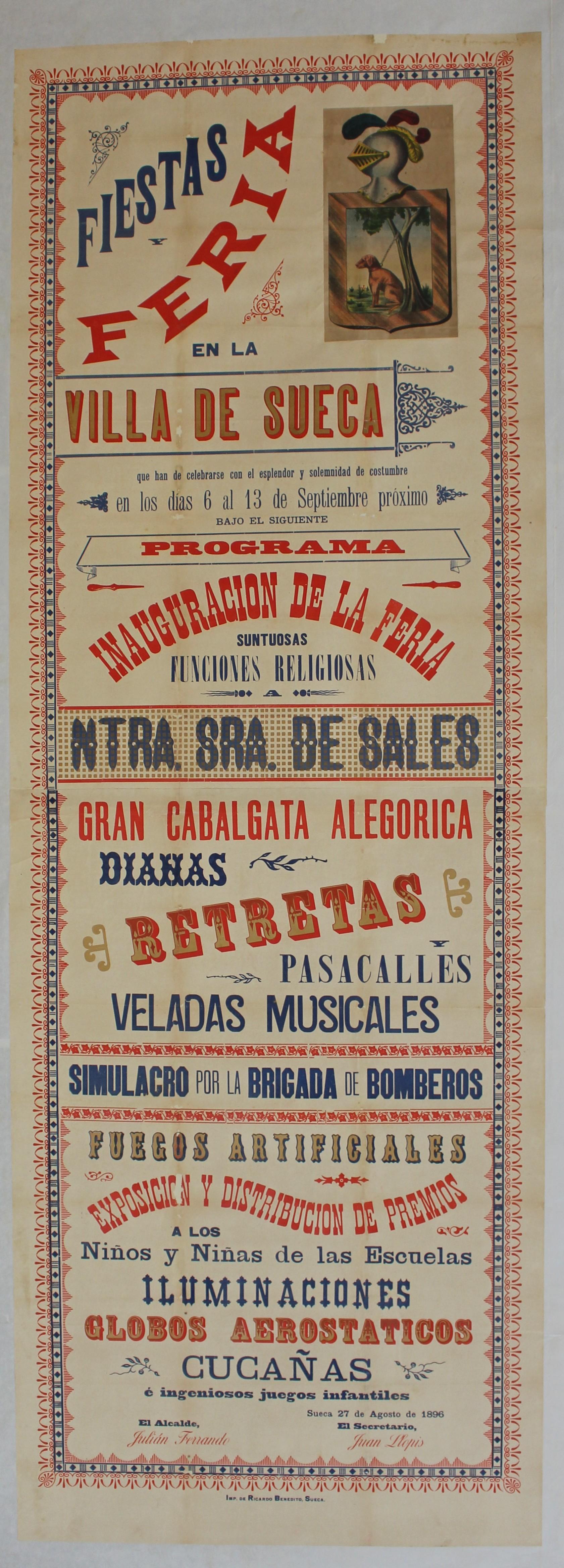Cartell de 1896